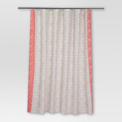 Rotary Print Shower Curtain (72 x72 )Coral - Threshold™