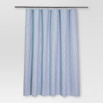 Pattern Stripe Shower Curtain (72 x72 )White/Blue - Threshold™