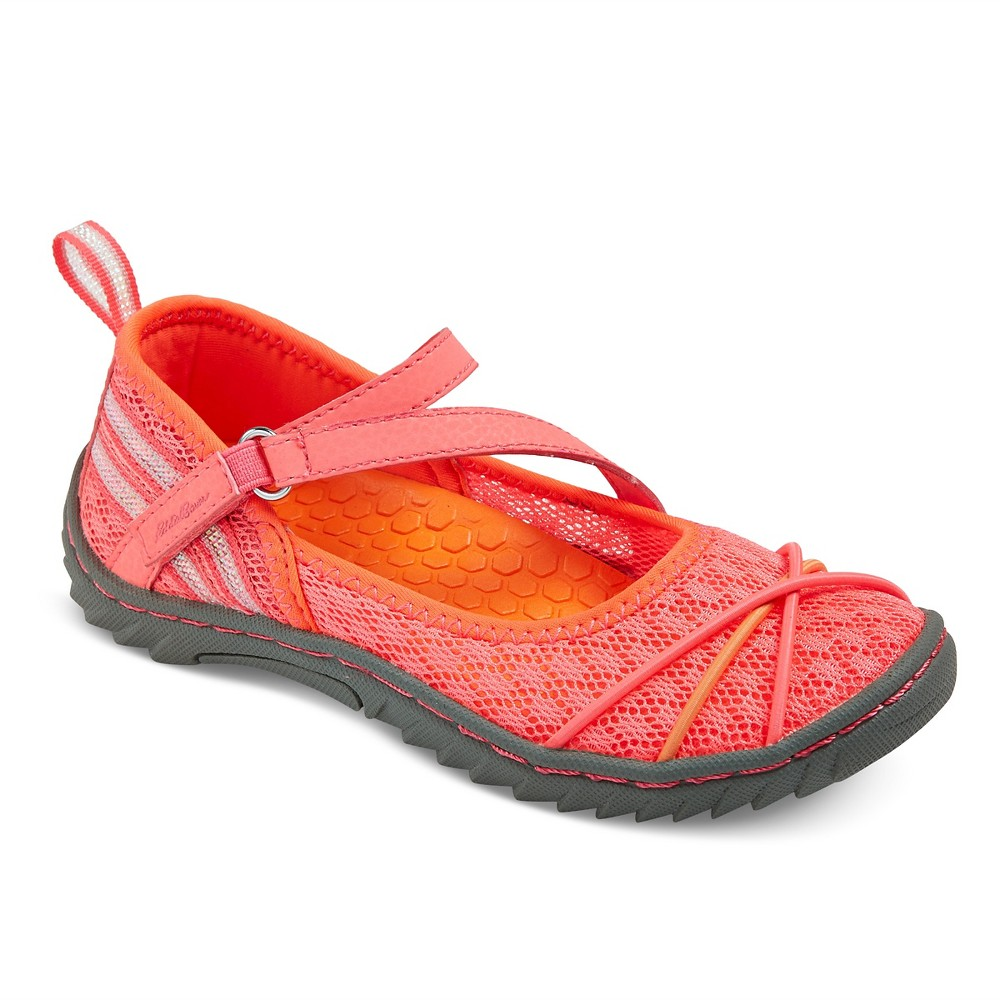 Girls Eddie Bauer Julie Sport Mary Jane Shoes - Pink 5
