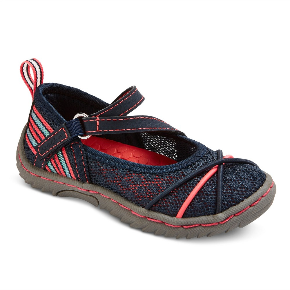 Girls Eddie Bauer Julie Sport Mary Jane Shoes - Navy (Blue) 3