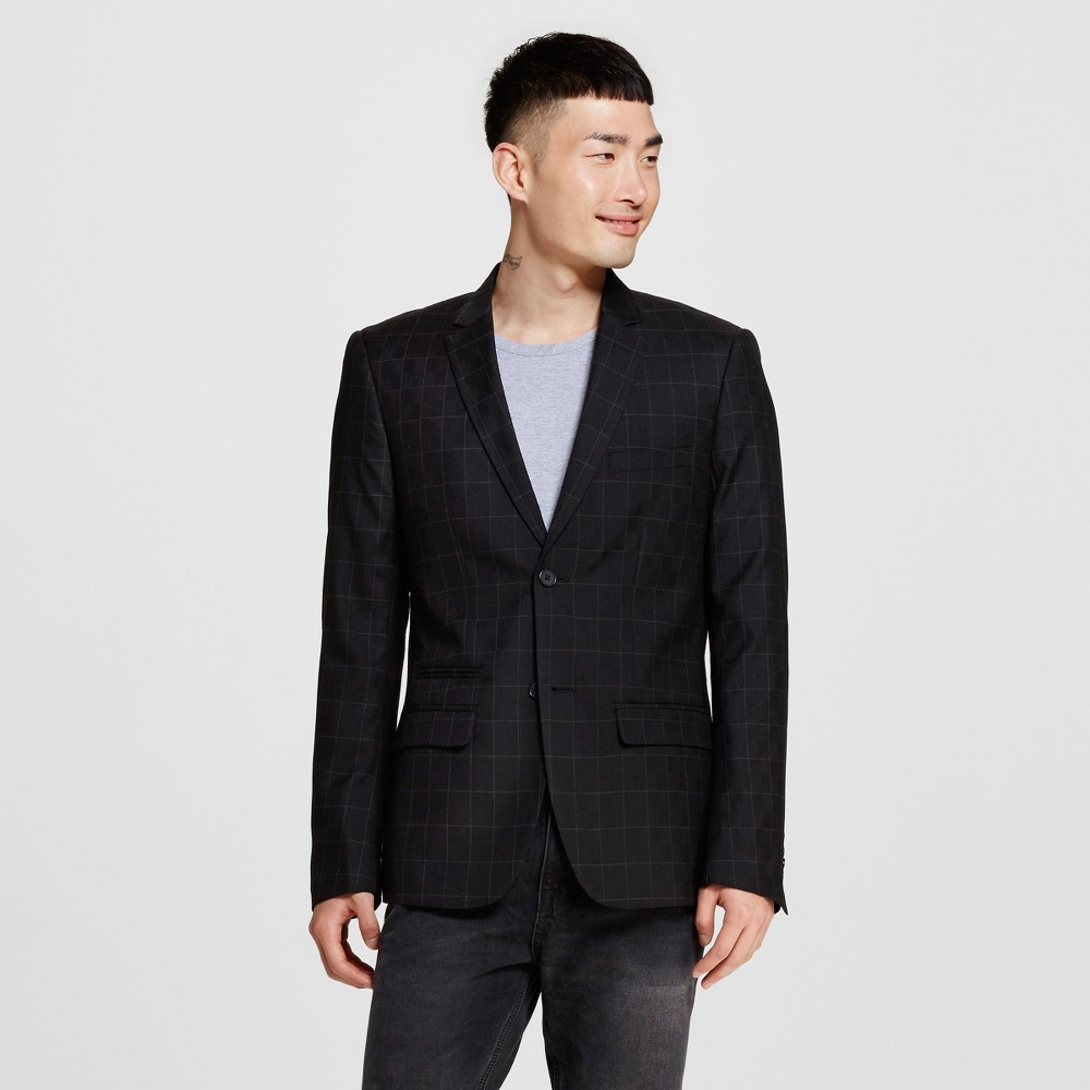 Men's Suit Coats L Black – WD-NY Black