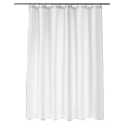 Matelassé Shower Curtain (72 x72 )White - Fieldcrest™