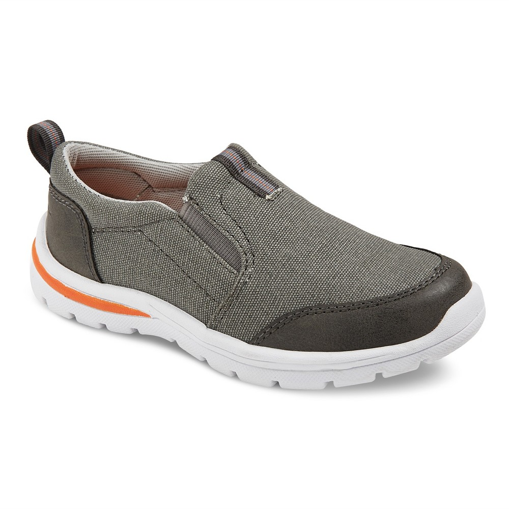 Boys Eddie Bauer Gabe Twingore Loafers - Gray 1