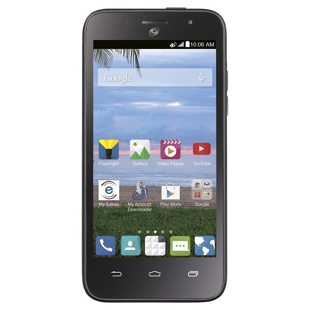 Net10 Zte Scend, Black, Cell Phone