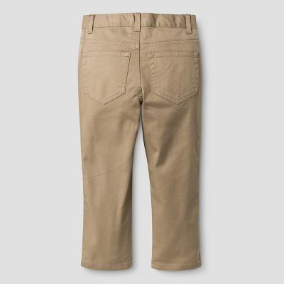 Toddler Boys' Chino Pants Cat & Jack - Khaki 5T, Toddler Boy's, Beige
