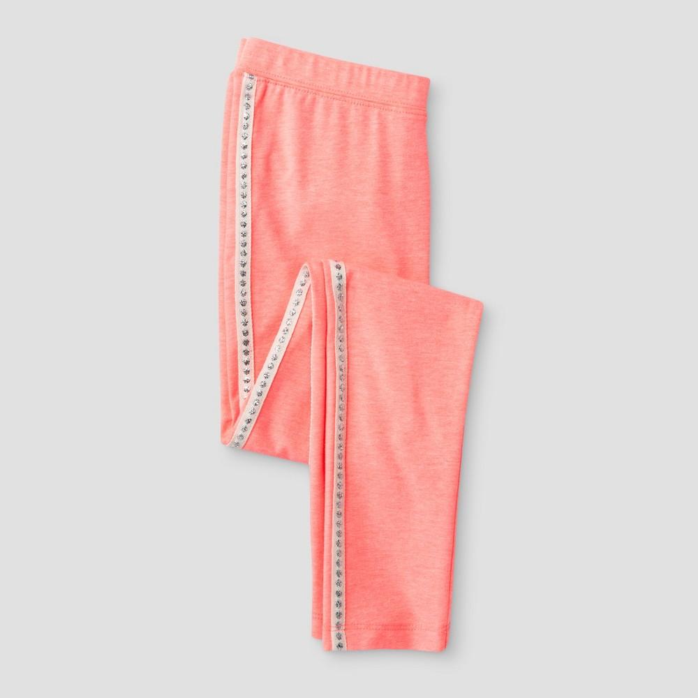Girls Side Tape Favorite Leggings - Cat & Jack Pink XS