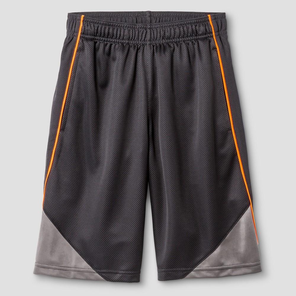 Boys Core Basketball Shorts - C9 Champion Charcoal (Grey) XS