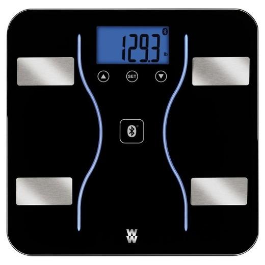 Target Bluetooth Bathroom Scales: Bluetooth Body Analysis Scale Black