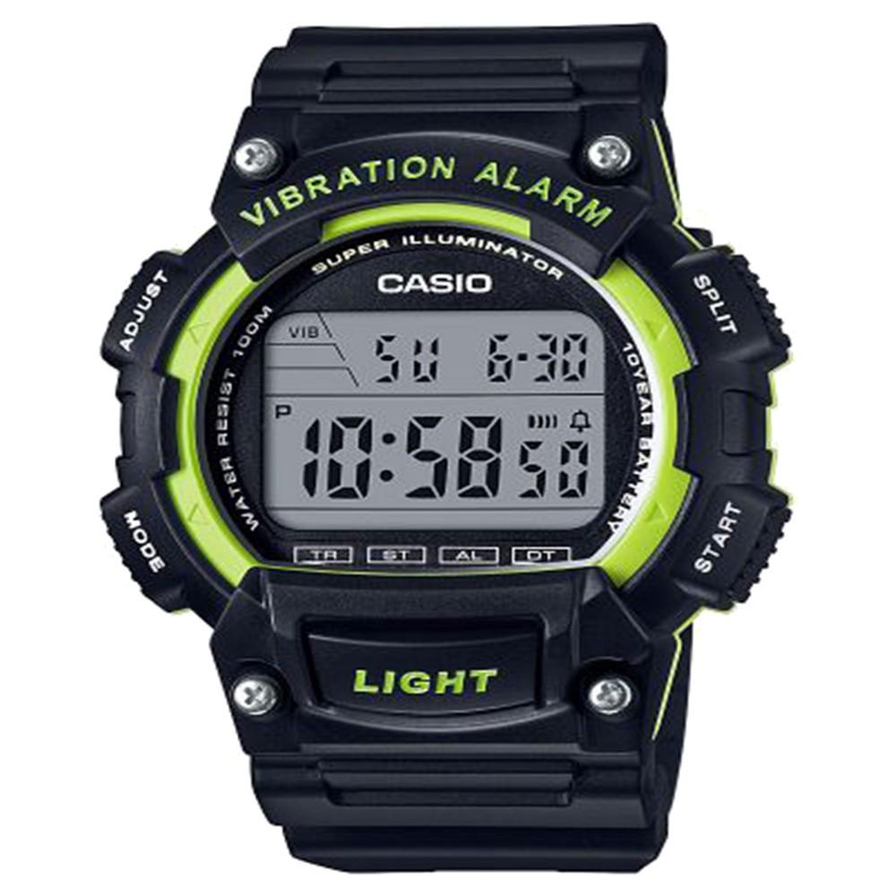 Men's Casio Digital Watch - Black