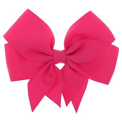 Girls' Ribbon Bow Hair Clip Cat & Jack™ Pink