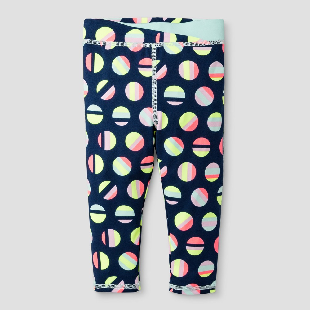 Toddler Girls Leggings Pant - Cat & Jack Nightfall Blue 5T