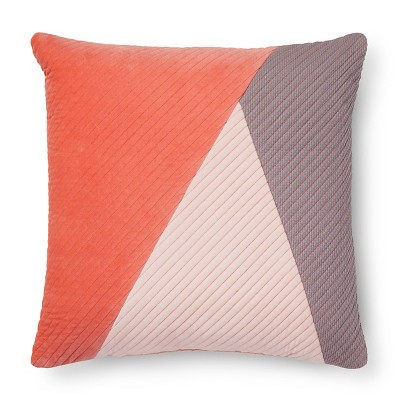 Pink Block Throw Pillow - Room Essentials™