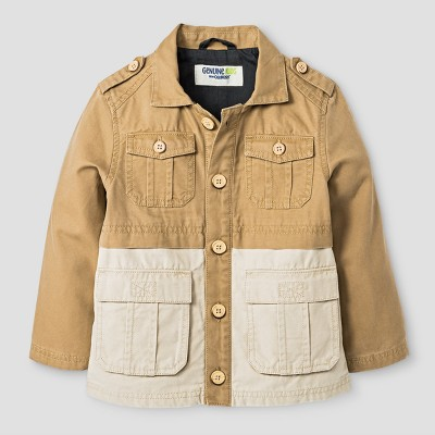 Baby Boys' Military Jacket Genuine Kids™ from OshKosh® Cattail 12M
