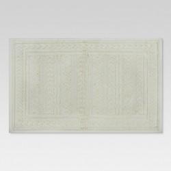 """Arrows Bath Mat Cream - (20""""x34"""") - Threshold™"""