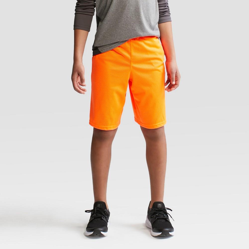Boys Mesh Shorts - C9 Champion Acorn Orange L