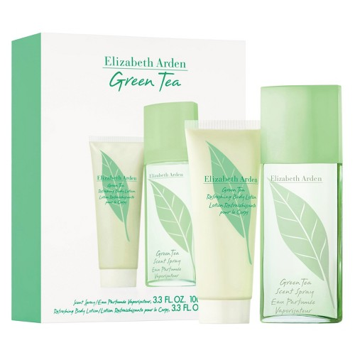 Women's Green Tea by Elizabeth Arden Fragrance Gift Set 2 pc