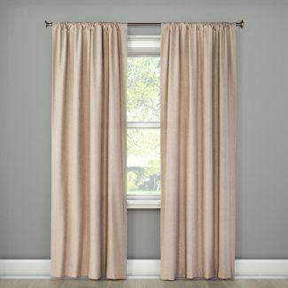 Beige Curtains Target