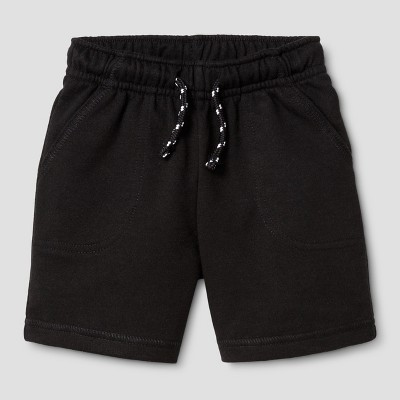 Baby Boys' Lounge Shorts - Cat & Jack™ Black 18M