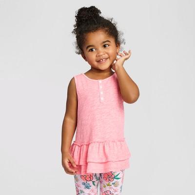 Toddler Girls' Tunic Cat & Jack™ Bali Pink 2T