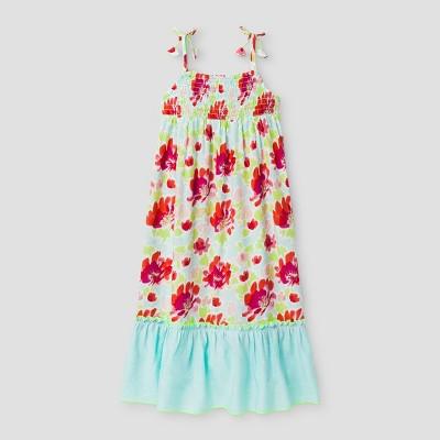 Toddler Girls' Maxi Dresses Cat & Jack - Aqua Float2T, Toddler Girl's, Size: 2T, Green