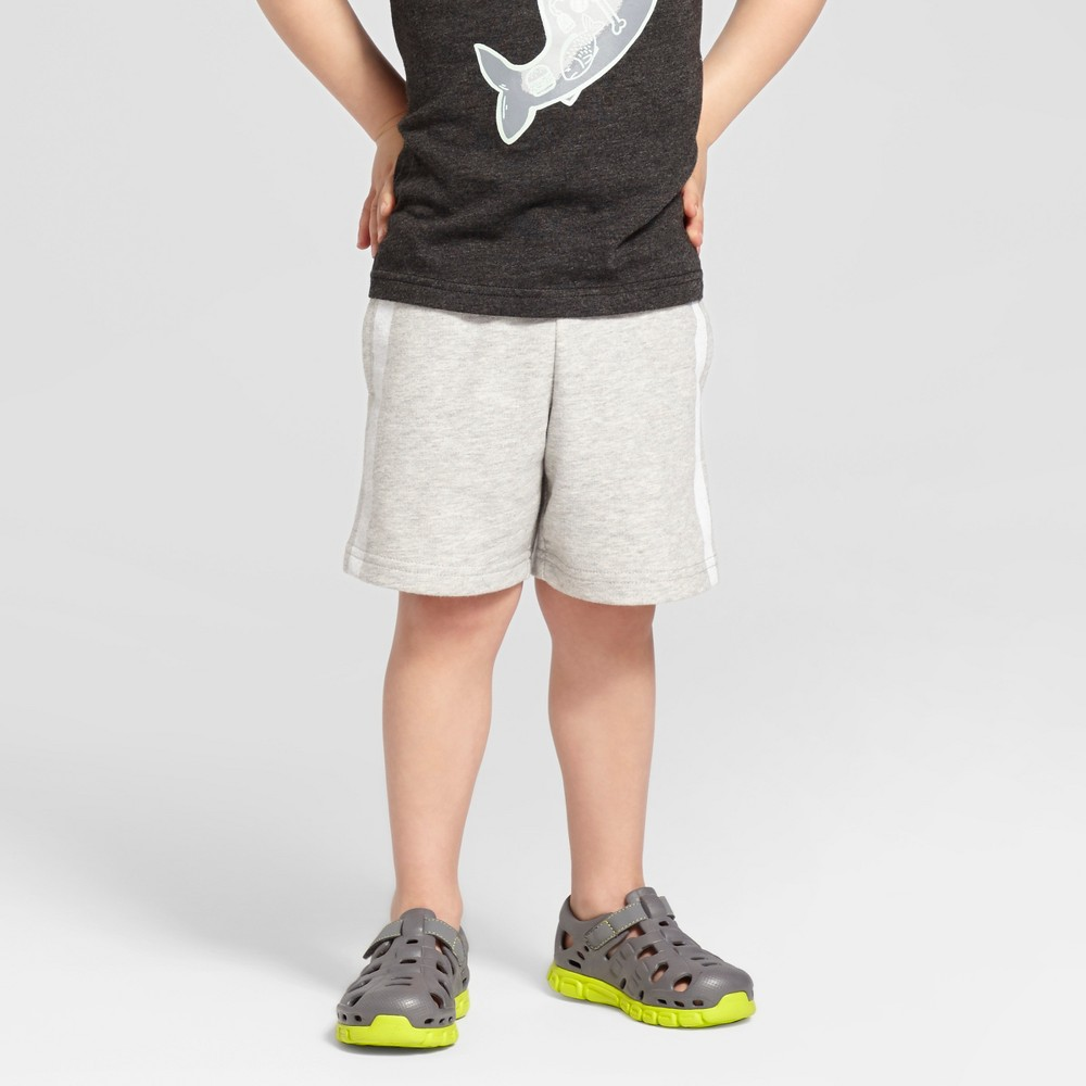 Toddler Boys Lounge Shorts with Side Pockets Cat & Jack - Heather Gray 3T