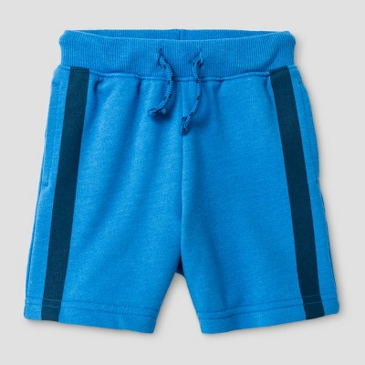Baby Boys' Lounge Shorts with Side Pockets Blue Bell 12M - Cat & Jack™