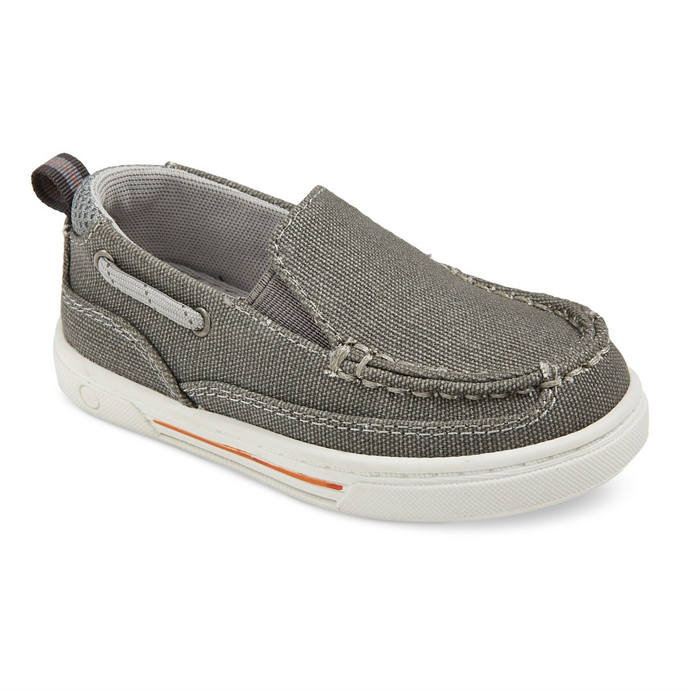 Toddler Boys' Eddie Bauer Colin Mesh Sport Loafers - Gray 8