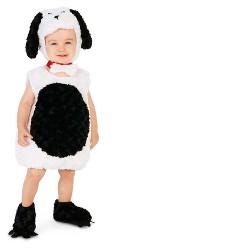 Gentle Puppy Baby Costume White