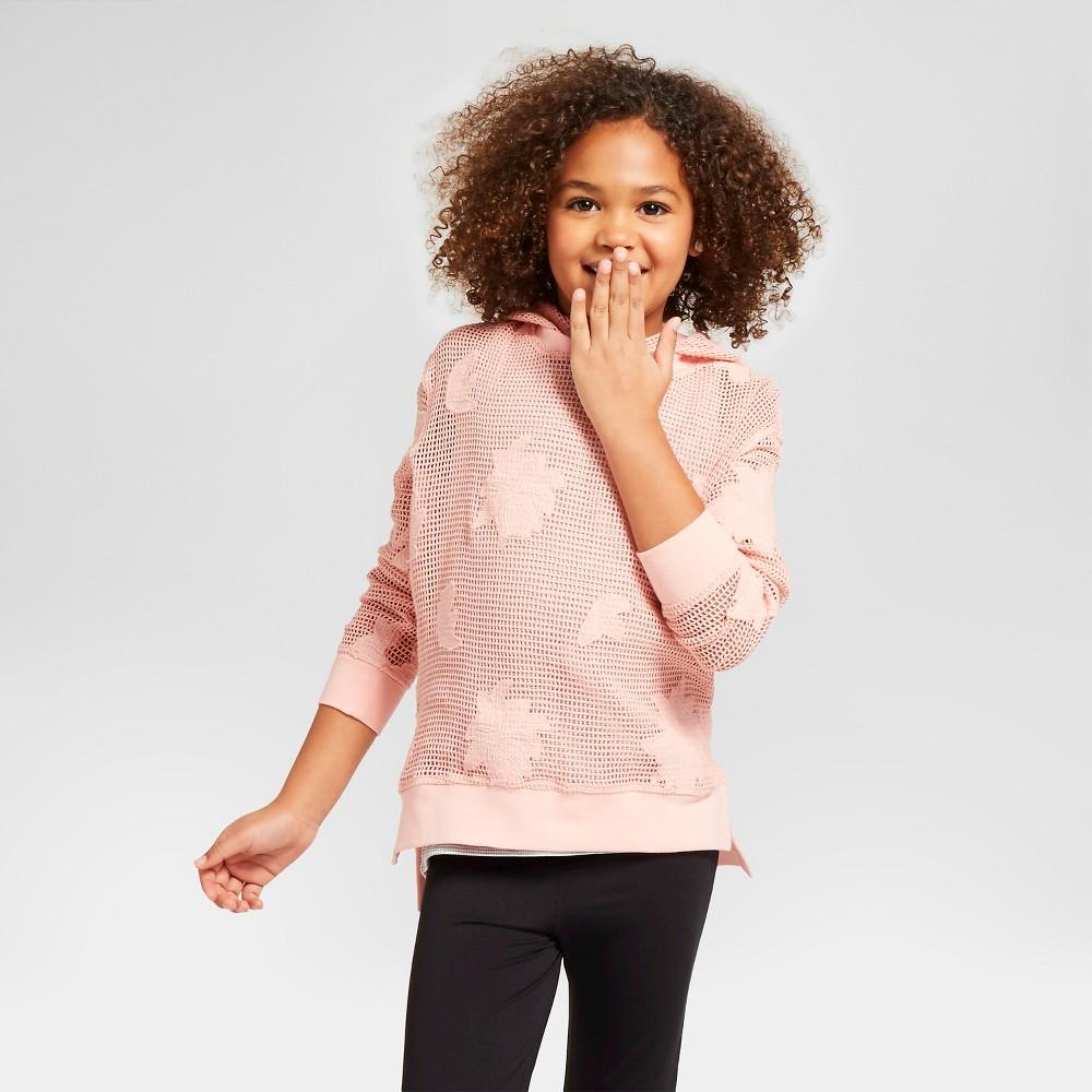 Girls' Mesh Pullover Art Class – Cool Melon XL, Girl's, Pink