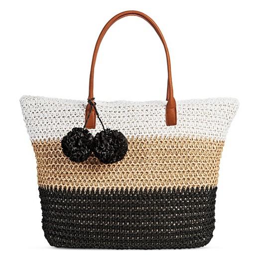 Women's Straw Tote Handbag - Merona™ : Target