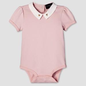 Baby Blush Bee Collar Bodysuit NB - Victoria Beckham for Target, Infant Unisex, Pink