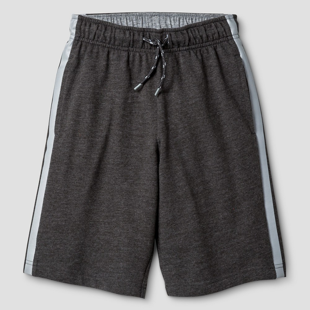 Boys Pull-On Shorts - Cat & Jack Heathered Charcoal S, Charcoal Heather