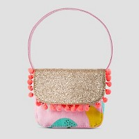 Toddler Girls' Sparkle Fruit Print Clutch Cat & Jack - Pink. opens in a new tab.