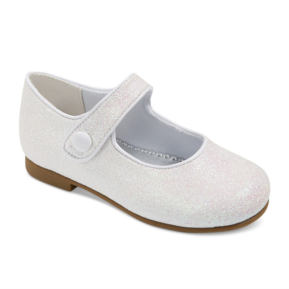 Toddler Girls Rachel Shoes Lil Halle Mary Jane Shoes - White 6