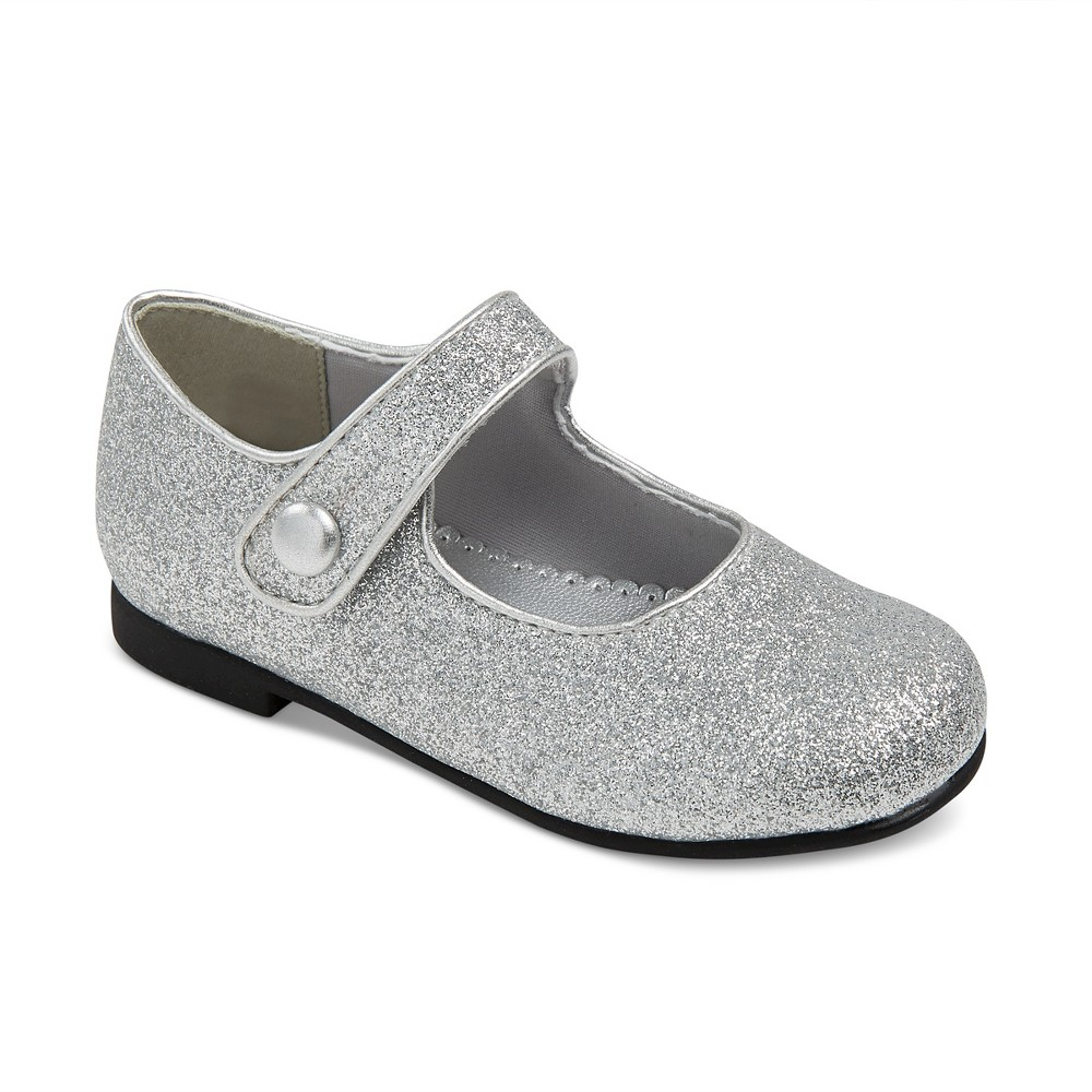 Toddler Girls Rachel Shoes Lil Halle Mary Jane Shoes - Silver 6