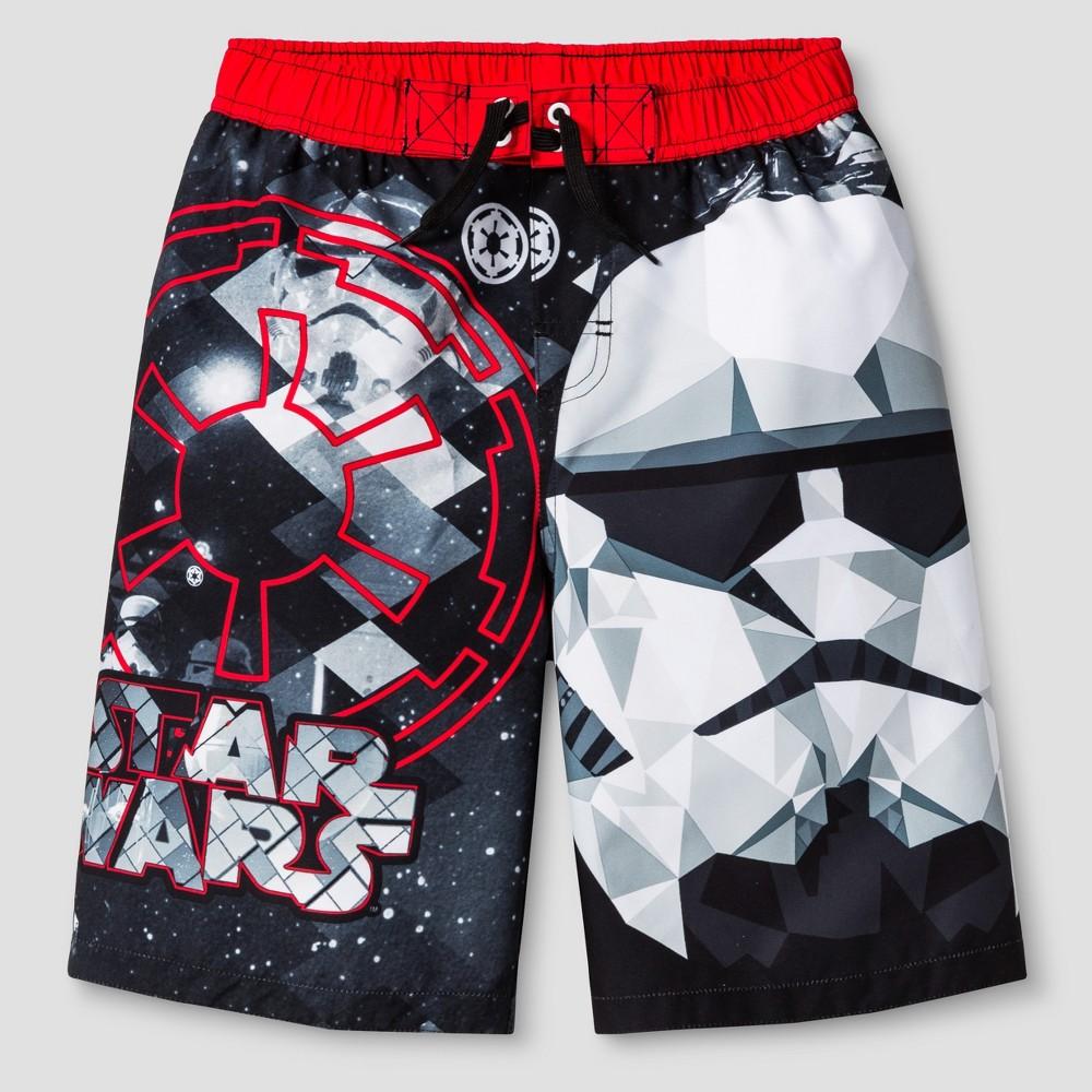 Boys Star Wars Swim Trunk - Black S