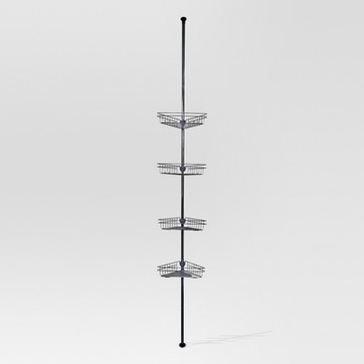Rust Resistant Tension Shower Caddy - Chrome - Threshold™
