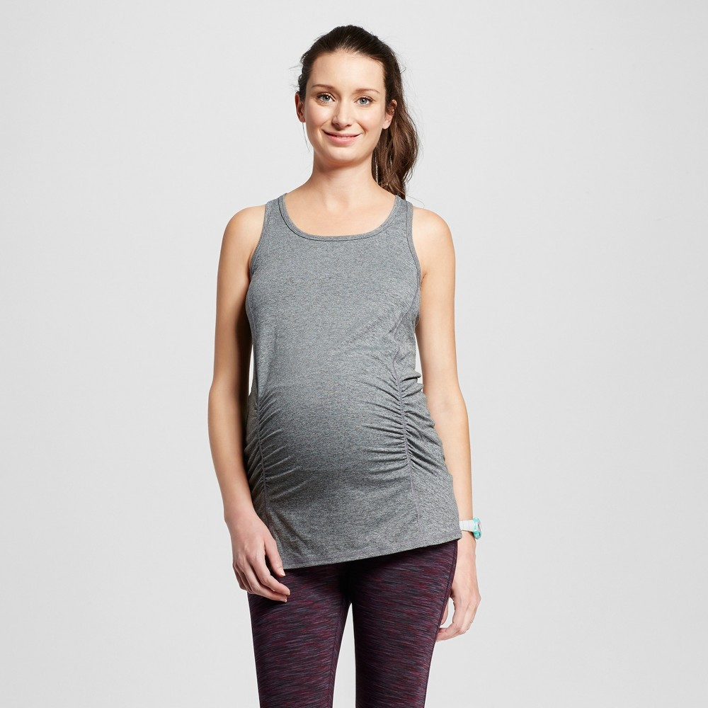 Maternity Performance Long Tank Top - C9 Champion - Dark Gray Heather Xxl, Womens