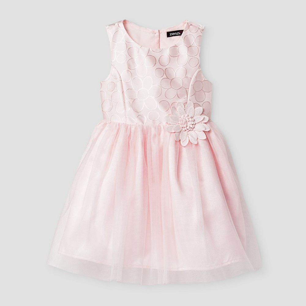 Zenzi Baby Girls' Special Occasion Dresses -Pink 12 M, Infant Girl's, Pink