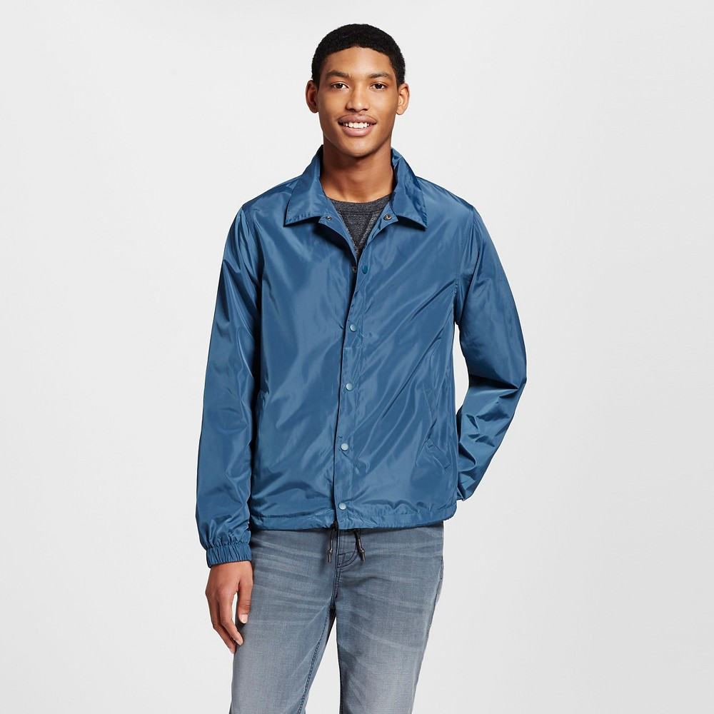 Mens Coachs Jacket - Mossimo Supply Co. Teal (Blue) M