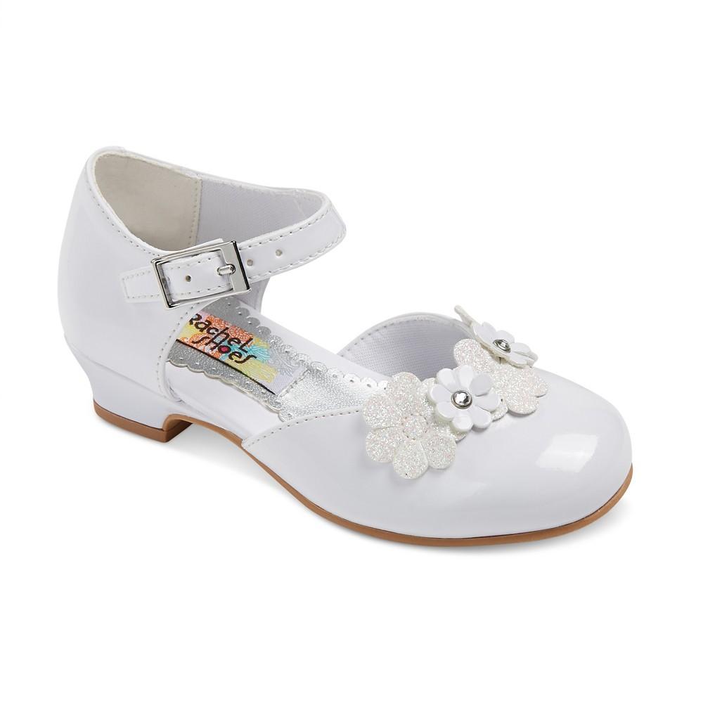 Toddler Girls Rachel Shoes Lil Alexis Pumps - White 6