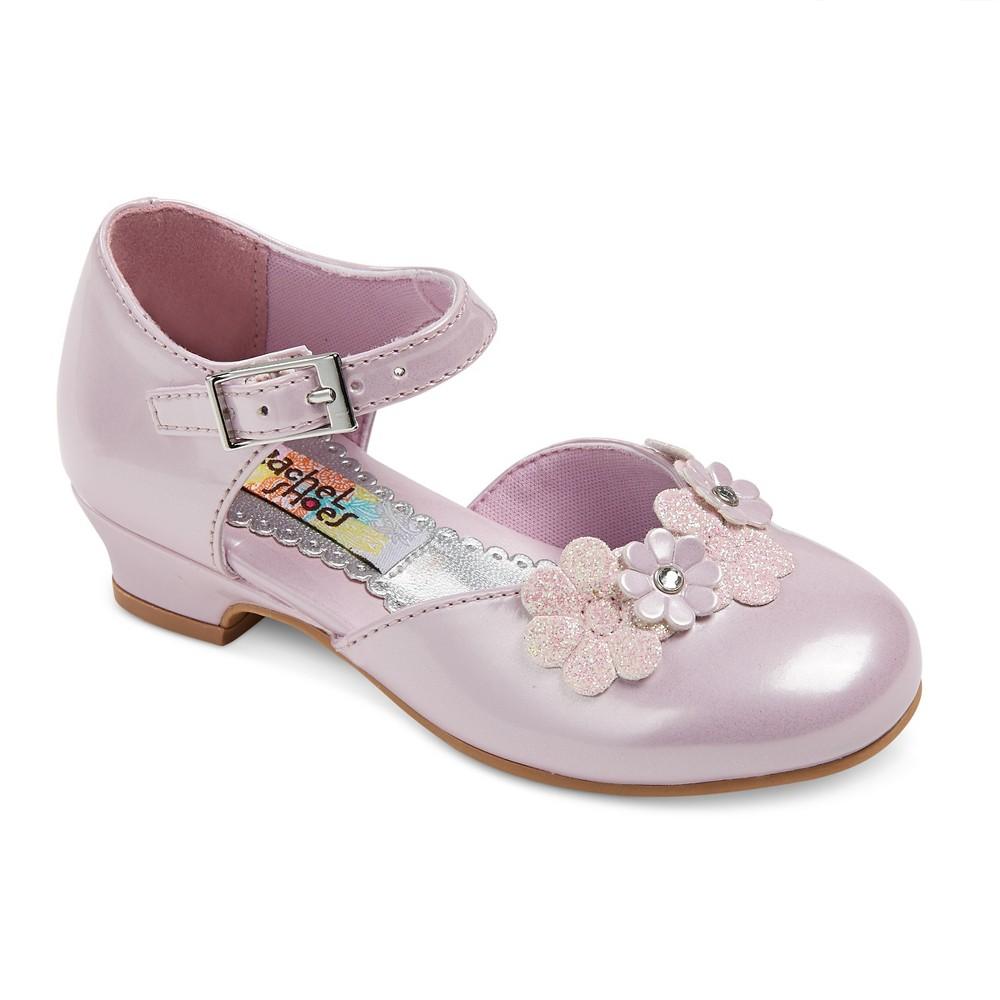 Toddler Girls Rachel Shoes Lil Alexis Pumps - Pink 8