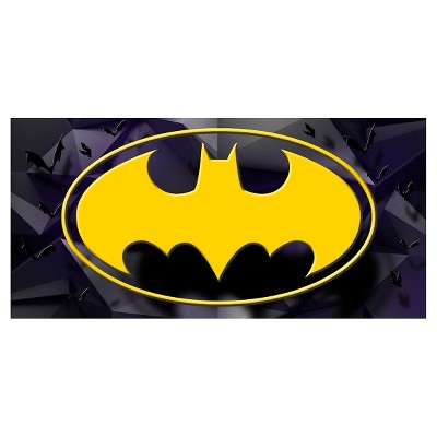 Beach Towel - (28  X 58 )- Batman