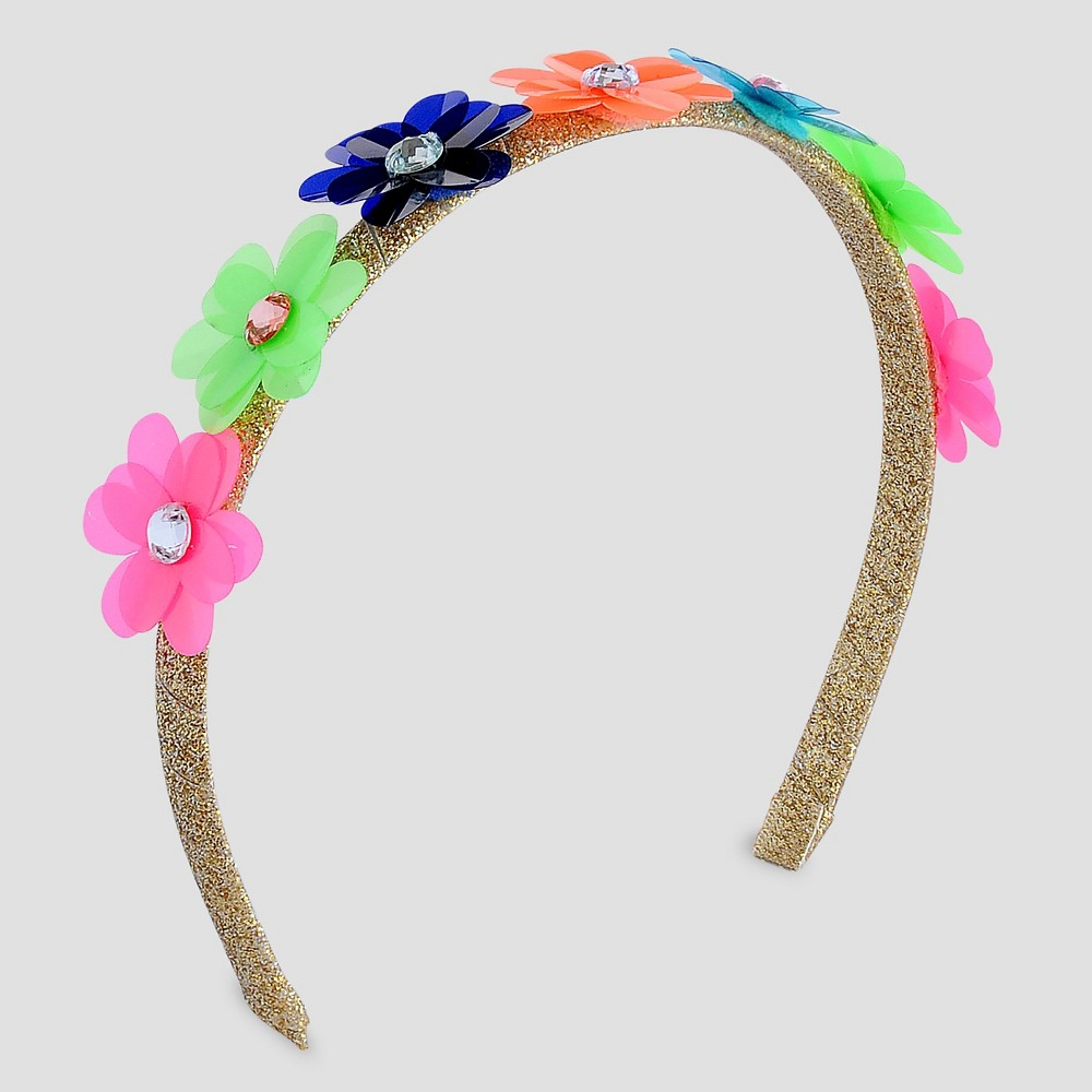 Girls Mini Pailette Headband - Cat & Jack Gold