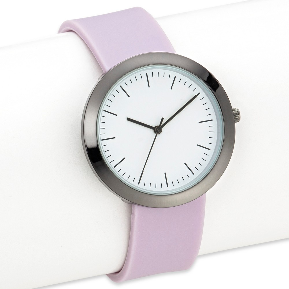 Womens Silicone Strap Watch - Xhilaration Pink