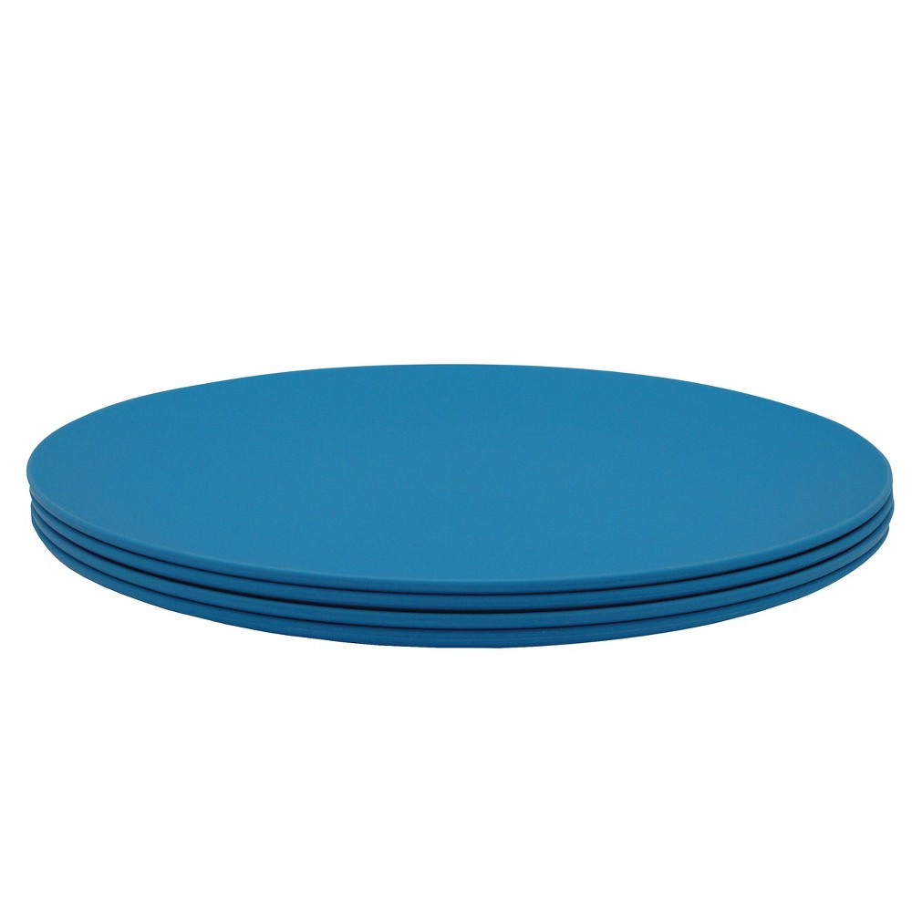 Image of EcoSouLife PLAnet 10in Dinner Plate 4PK Blue
