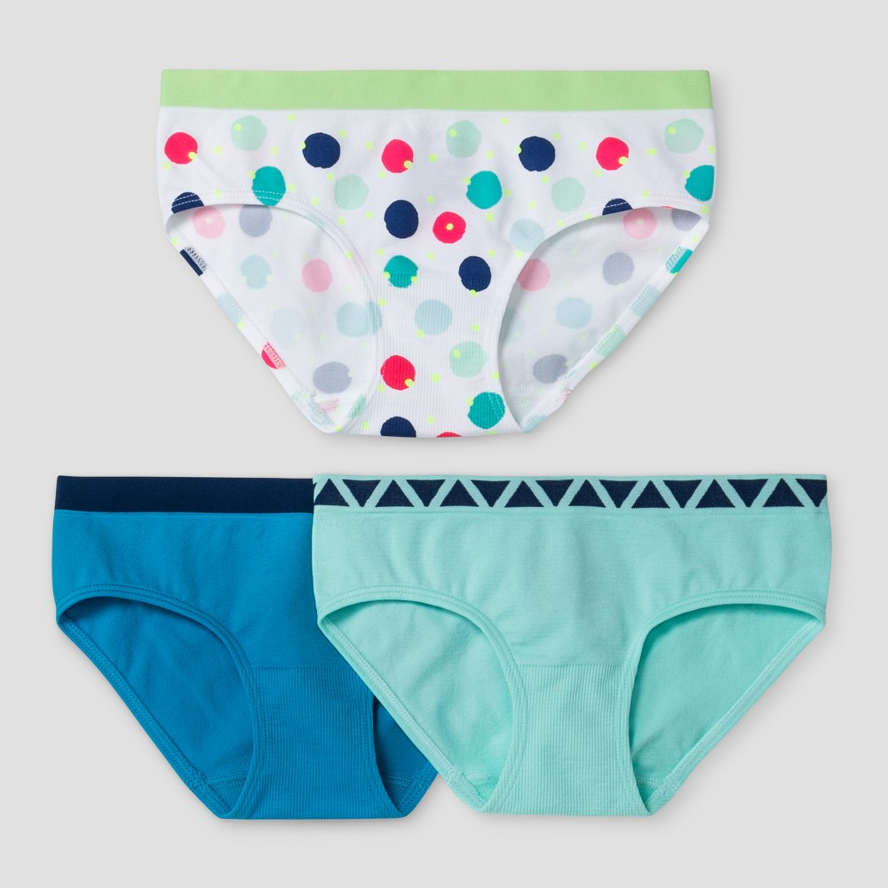 Girls Hipster Briefs Cat & Jack Turquoise L, Blue