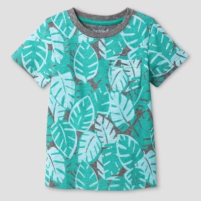 Baby Boys' T-Shirt Cat & Jack™ Sea Green 12 M