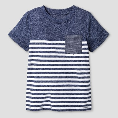 Baby Boys' T-Shirt Cat & Jack™ Navy 18 M
