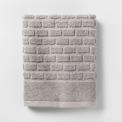 Hand Towels Gray Tile - Threshold™
